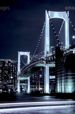 レインボーブリッジ 日本 東京都 港区の写真素材 [FYI03412259]