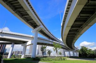 首都高速道路 有明ジャンクションの写真素材 [FYI03412507]