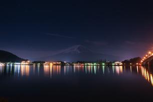 河口湖 日本 山梨県 富士河口湖町の写真素材 [FYI03412743]