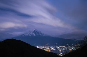 御坂峠 日本 山梨県 富士河口湖町の写真素材 [FYI03412748]