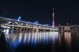 隅田川 日本 東京都 中央区の写真素材 [FYI03412750]