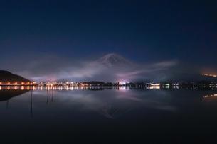 河口湖 日本 山梨県 富士河口湖町の写真素材 [FYI03412751]