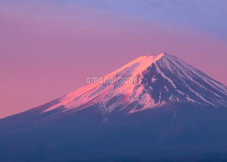 河口湖 日本 山梨県 富士河口湖町の写真素材 [FYI03412757]