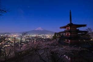 新倉山公園 の写真素材 [FYI03412771]