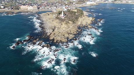 太平洋 灯台の写真素材 [FYI03412777]