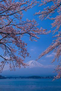 河口湖 日本 山梨県 富士河口湖町の写真素材 [FYI03412778]