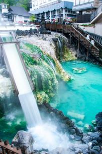 草津温泉湯畑の写真素材 [FYI03413303]