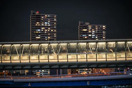 横浜・みなとみらいのマンション群の写真素材 [FYI03413572]
