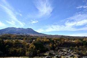 御嶽山 開田高原の写真素材 [FYI03413911]