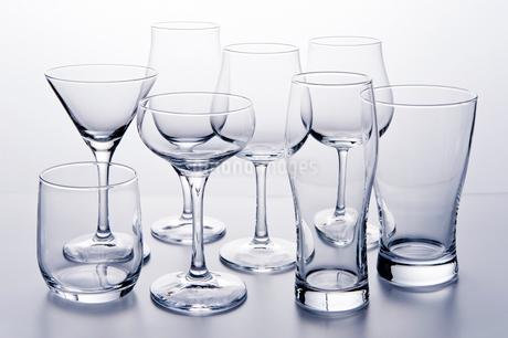 ガラス食器の写真素材 [FYI03414020]