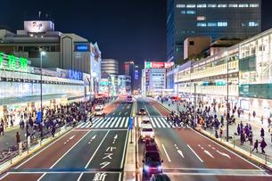 新宿の夜景の写真素材 [FYI03414058]