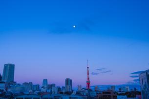 六本木から見た夕暮れの写真素材 [FYI03414081]