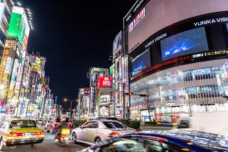 新宿の街並みの写真素材 [FYI03414089]