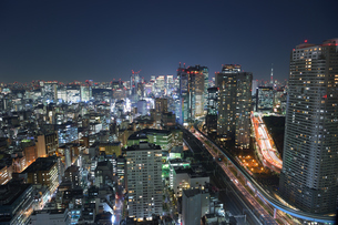 東京の夜景の写真素材 [FYI03414091]
