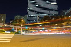 新宿の夜景の写真素材 [FYI03414097]