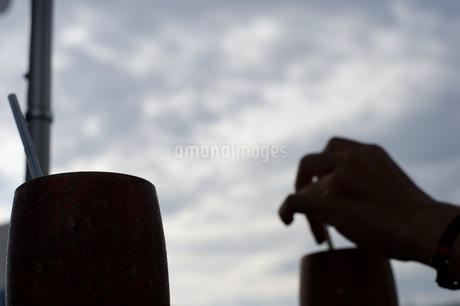 昼下がりのティータイムの写真素材 [FYI03414145]