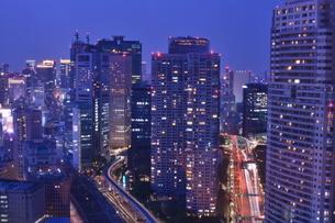 東京の夜景の写真素材 [FYI03414148]