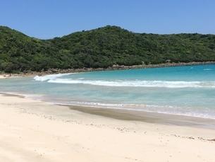離島の砂浜と海の写真素材(種子島)の写真素材 [FYI03414329]
