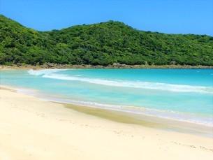 離島の砂浜と海の写真素材(種子島)の写真素材 [FYI03414330]