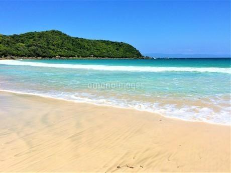 離島の砂浜と海の写真素材(種子島)の写真素材 [FYI03414331]