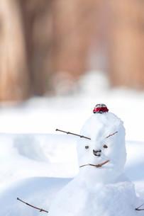 雪だるまの写真素材 [FYI03414618]