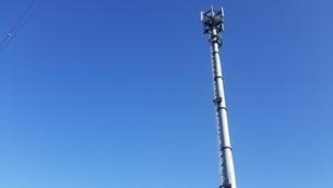 電波塔の写真素材 [FYI03414760]