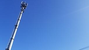 電波塔の写真素材 [FYI03414761]