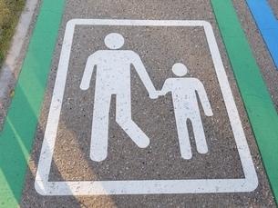歩行者専用道路の写真素材 [FYI03414802]