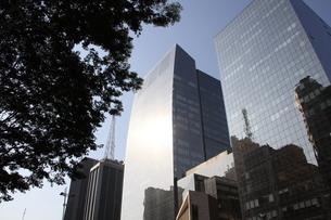 サンパウロのビジネス街の写真素材 [FYI03415454]