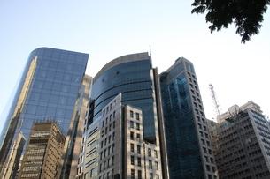 サンパウロのビジネス街の写真素材 [FYI03415455]