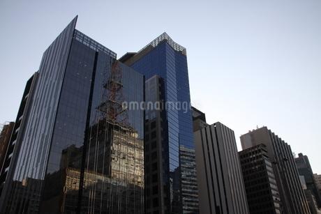 サンパウロのビジネス街の写真素材 [FYI03415456]
