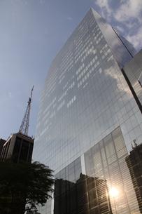 サンパウロのビジネス街の写真素材 [FYI03415457]