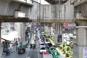 Street traffic の写真素材 [FYI03415477]