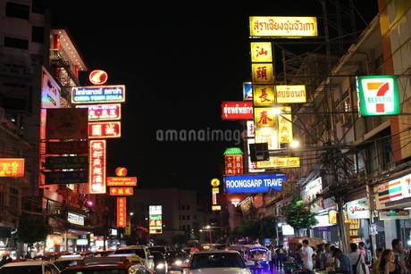 バンコク 中華街の写真素材 [FYI03415587]
