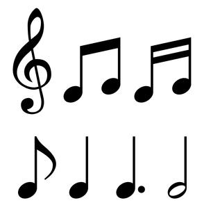 音符素材セット のイラスト素材 [FYI03415673]
