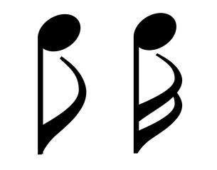 音符素材セット のイラスト素材 [FYI03415675]