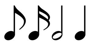 音符素材セット のイラスト素材 [FYI03415678]