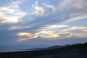 雲と光の写真素材 [FYI03416033]