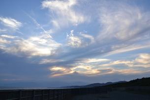 雲と光の写真素材 [FYI03416038]