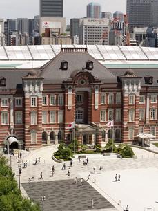 東京駅の赤レンガ駅舎の写真素材 [FYI03416307]