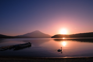 山中湖 日本 山梨県 山中湖村の写真素材 [FYI03416435]