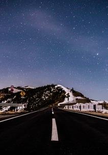 国道292 山田峠付近 日本 群馬県 嬬恋村の写真素材 [FYI03416601]