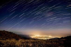高ボッチ山 日本 長野県 岡谷市の写真素材 [FYI03416609]
