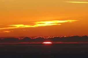 富士山御来光の写真素材 [FYI03417208]