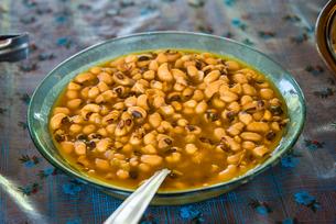 レンソイスのマラニャン料理:煮豆の写真素材 [FYI03417578]