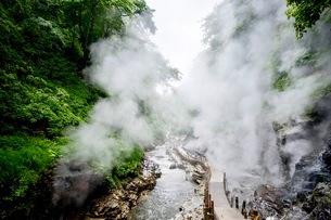 小安峡 日本 秋田県 湯沢市の写真素材 [FYI03417663]
