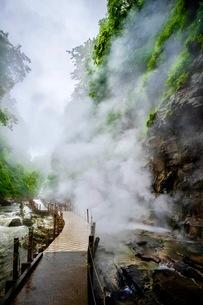 小安峡 日本 秋田県 湯沢市の写真素材 [FYI03417664]