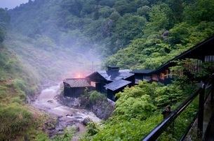 小安峡 日本 秋田県 湯沢市の写真素材 [FYI03417665]