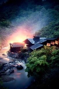 小安峡 日本 秋田県 湯沢市の写真素材 [FYI03417667]