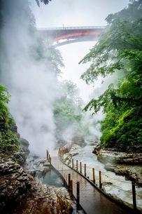 小安峡 日本 秋田県 湯沢市の写真素材 [FYI03417670]